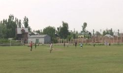 Government develops football stadium in Srinagar